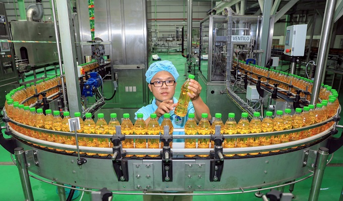 This is one of Vietnam's most modern plants, using Aseptic filling lines from GEA Procomac, an Italian technological leader in beverage filling.
