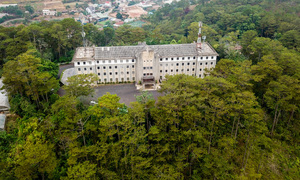 Da Lat's old French monastery now a biological museum
