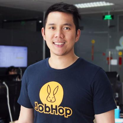 Kevin Tung Nguyen established JobHop in 2016. Photo courtesy of Forbes