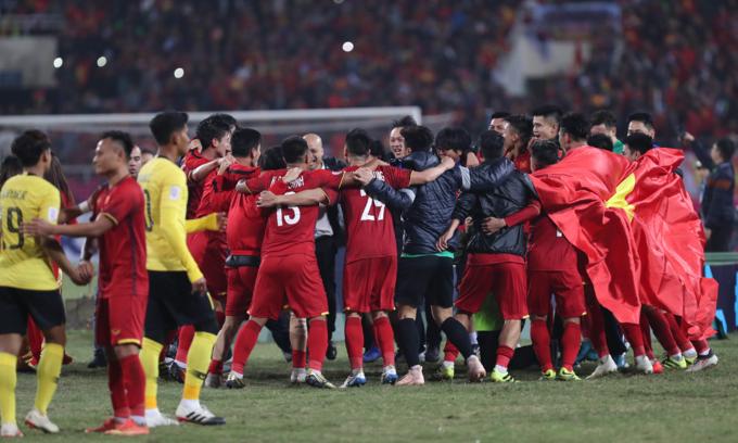 Vietnam men's football squad valued at $1.9 million