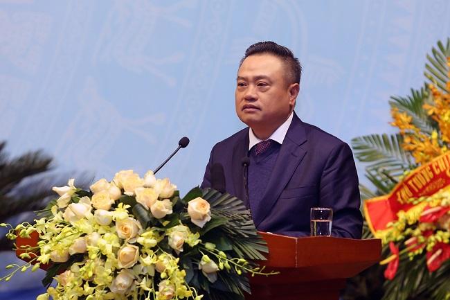 Tổng giám đốc Nguyễn Vũ Trường Sơn nhấn mạnh những dấu ấn nổi bật của PVN trong năm 2018.