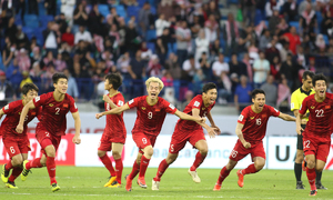 Vietnam's men move up one place in FIFA rankings