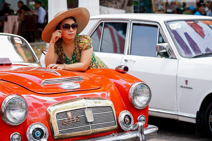 Blast from the past: Vintage cars make Saigonese nostalgic - 4