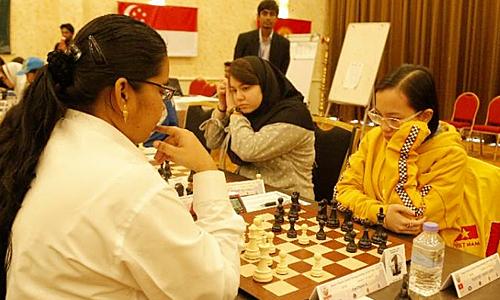 Vietnam tops Asian Youth Chess Championship