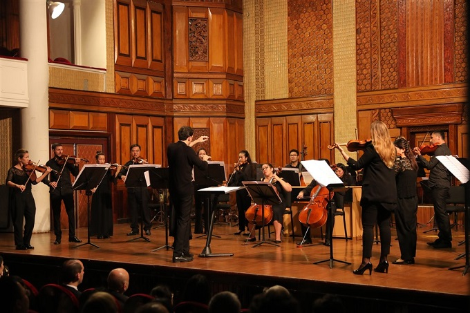 Established in 2017, the Sun Symphony Orchestra functions under the umbrella of the Sun Group, based in Hanoi, Vietnam.