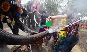 As drought bites, Thai cities urged to rein in festive water fights