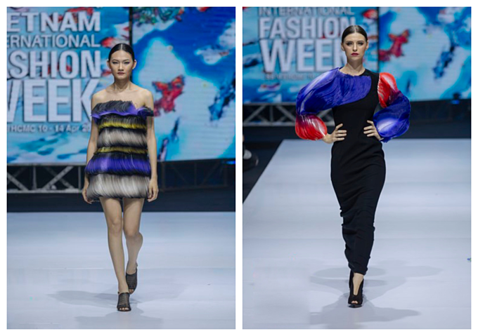 South Korean designer charms Vietnam with colors, waves and swirls - 7