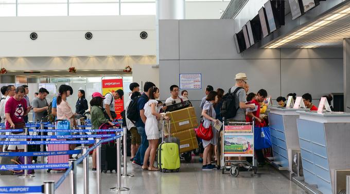 Vietnam tourism staff productivity small fraction of Singaporean peer