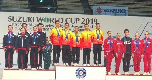 Vietnam wins three gold medals at Aerobic World Cup