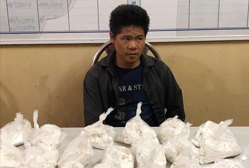 Man arrested with 6.5 kg of heroin on Vietnam border with Golden Triangle