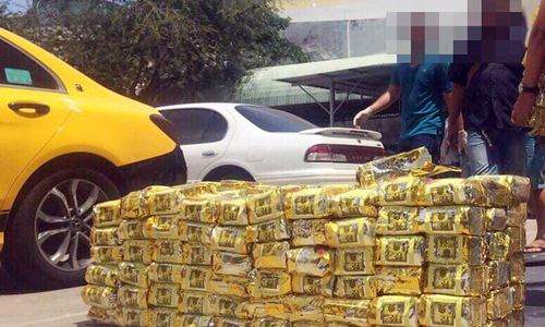 Police investigate Taiwanese men linked to record 1.1 ton drug haul