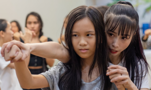 Don't you mess with us any more: women, children learn self-defense