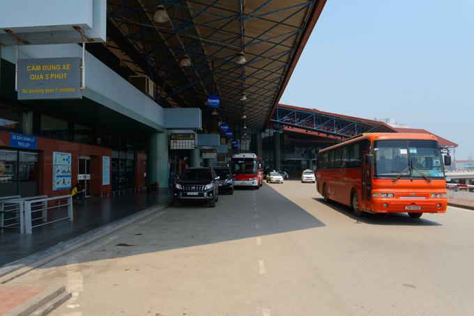 Hanoi mulls new high quality bus to international airport