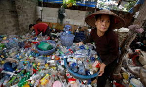 Dumping plastic waste in Asia found destroying crops and health