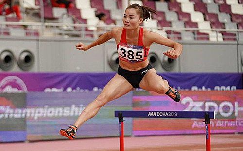 Vietnam's Lan wins Asian athletics gold