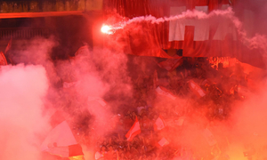 In bizarre decision, Hanoi FC penalized for opposition fans lighting flares
