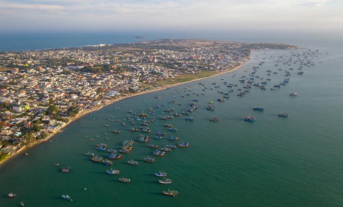 Mui Ne fishing village in Binh Thuan Province. Photo by VnExpress/Trung Pham