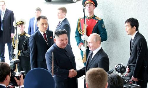 N.Korean leader says peace on Korean peninsula depends on US attitude: report