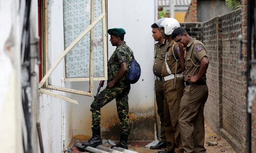 Gun battle in Sri Lanka kills 15, U.S. pulls citizens out