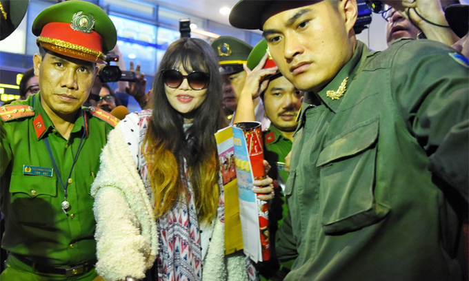 Vietnamese suspect in Kim Jong-nam assassination returns home