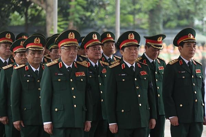 Vietnam holds state funeral for former president Le Duc Anh - 2