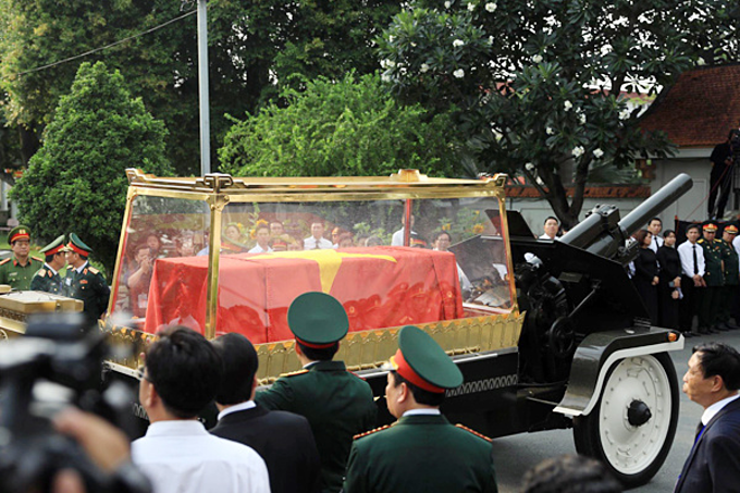 Vietnam holds state funeral for former president Le Duc Anh - 6
