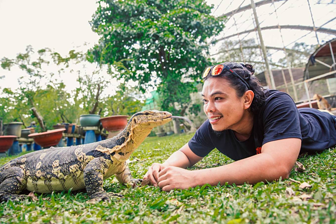 A home for pet reptiles becomes a mini zoo in southern Vietnam