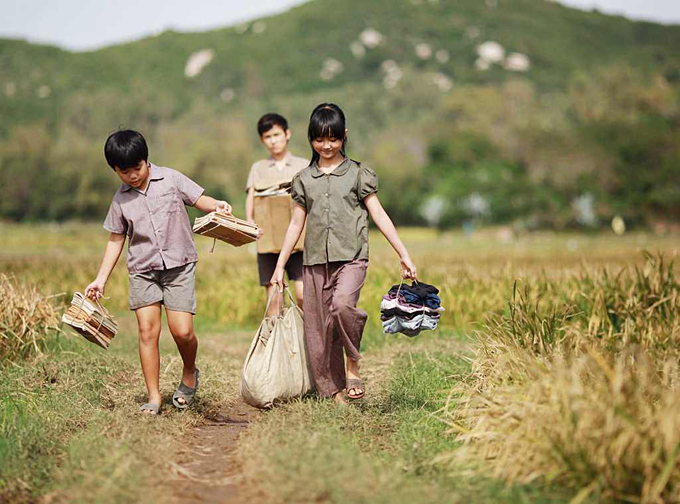A scene in Yellow Flowers On Green Grass, which was screened in several international film festivals without commercial success abroad. Photo acquired by VnExpress