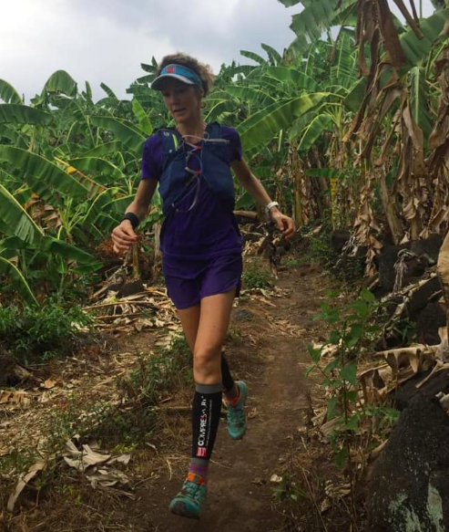 A Facebook photo shows Marieke Dekkers in training to prepare for The Red River Run.