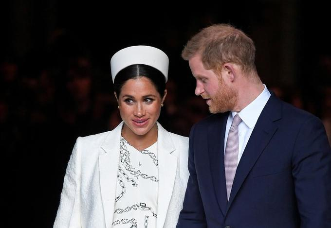It's a boy! Meghan, wife of Britain's Prince Harry, gives birth