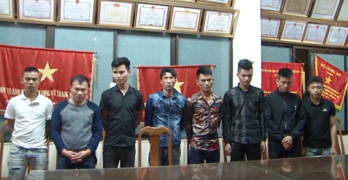 Fake cops kidnapping Chinese nationals arrested in northern Vietnam