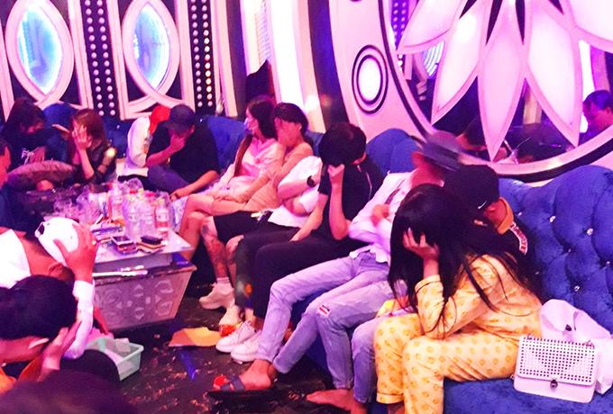 70 held for drug abuse in southern Vietnam karaoke parlor