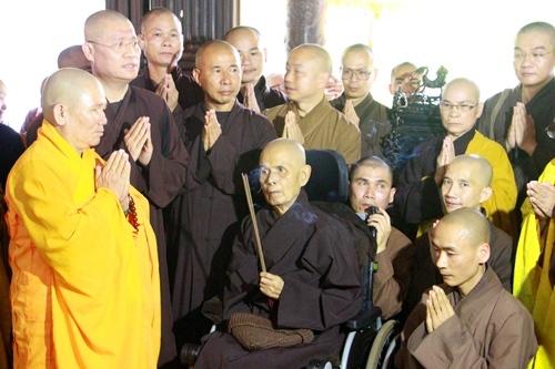 Vietnam Zen Master moves to resort as pagoda renovation begins