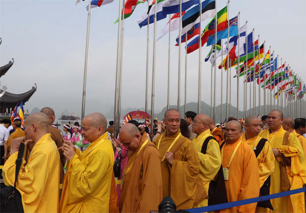 Global peace, sustainability and the Buddha