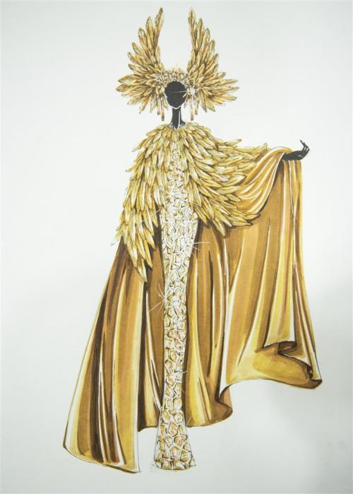 A costume designed by Tom Trandt for Sunshine Kingdom