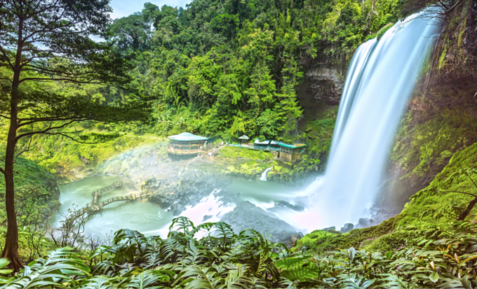 Dambri Waterfall in Bao Loc Town in the Central Highlands province of Lam Dong is definitely worth a visit. Photo by VnExpress/ Thoai