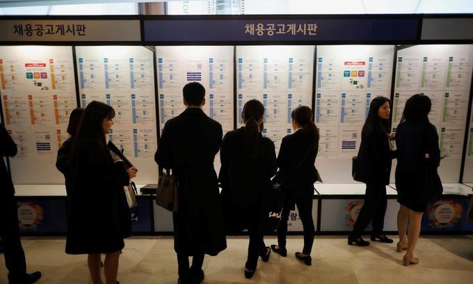 South Korea's latest big export: Jobless college graduates