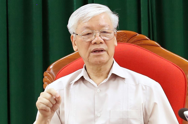 Vietnam party chief, president hosts key meeting after sick leave