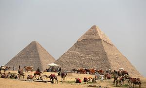 Explosion hits tourist bus near Egypt's Giza pyramids - security sources