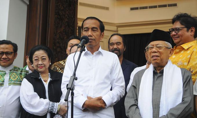 Indonesia's Joko Widodo wins second term as president