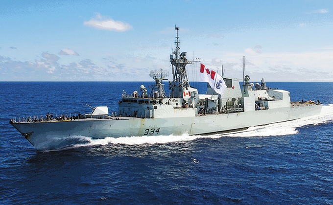Canadian naval ships to make first ever port call at Vietnam military base