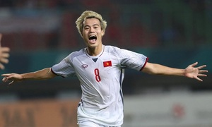 Vietnam's national football offense could strike a surprise