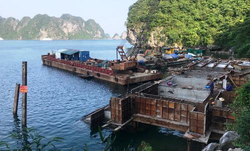 Ha Long Bay tourism boom sees illegal constructions mushroom