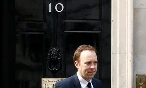 British health minister Hancock joins race to replace May as prime minister