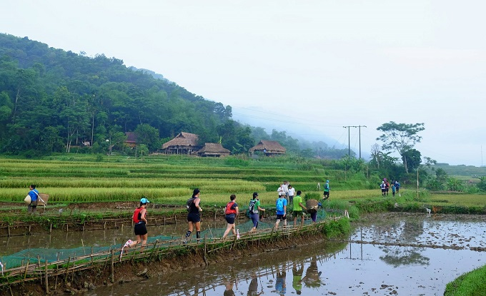 Vietnam jungle marathon introduces breathtaking rural vistas