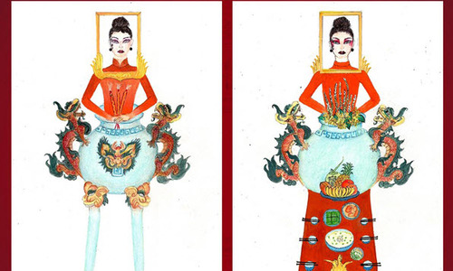 Altar-inspired costume raises eyebrows in Vietnam