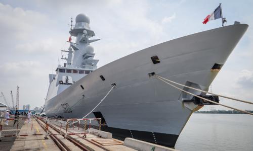 French navy frigate visits HCMC