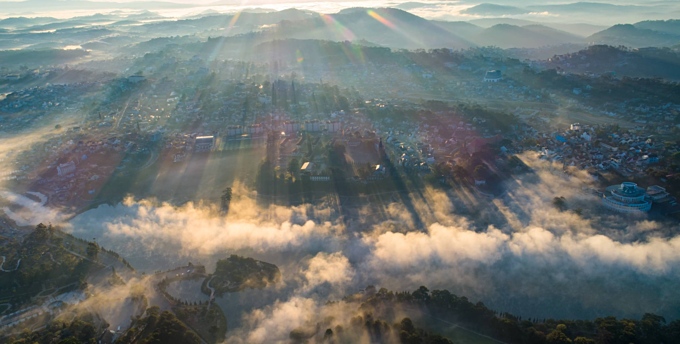 When Da Lat gets clouded, the view gets heavenly - 4