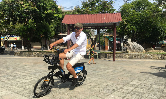 Hoi An's first bicycle sharing scheme hits the streets