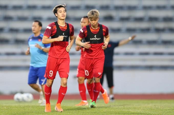 Vietnam begin King's Cup training - 5
